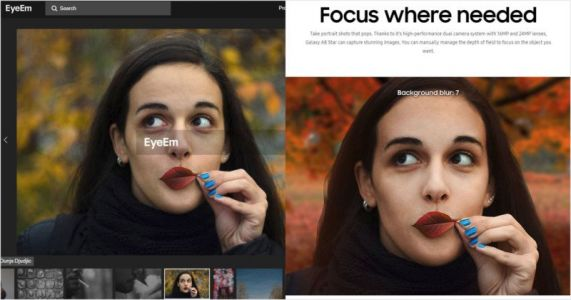 Samsung Caught Using DSLR Photo to Fake Its Phone's 'Portrait Mode'