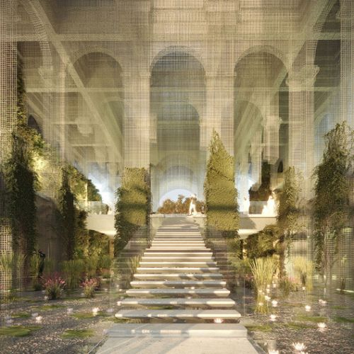 Dodi Moss Team Designs an Ethereal Italian Pavilion for Expo Dubai 2020 Competition