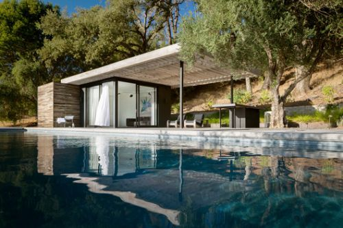 Dry Creek Poolhouse / Ro I Rockett Design