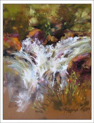 Action Packed..Pastel..Texas Artist..Rae Andrews