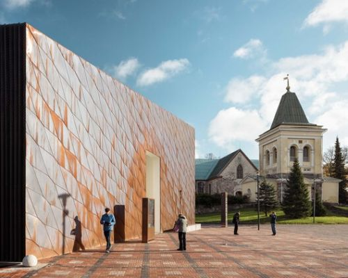 Copper Can Be Endlessly Recycled: 8 Projects With Sustainable Cladding