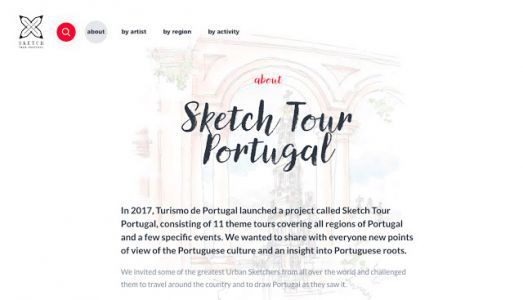 Sketch Tour Portugal