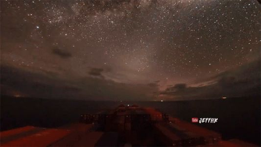 A 30-Day Timelapse Transports You Across the Globe Aboard a Container Ship