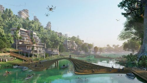An Indonesian Smart City Design and a Contemporary Art School in Vienna: 10 Unbuilt Projects Submitted by our Readers