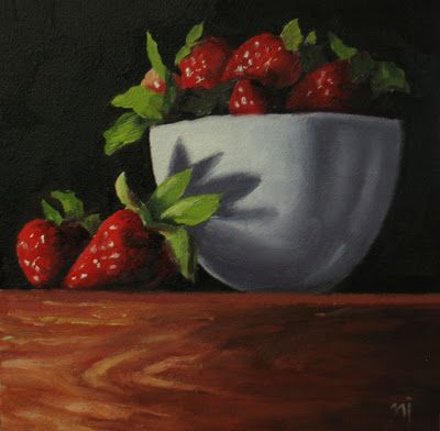 Bowl with Strawberries