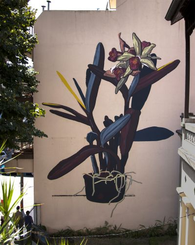 """Grandma's Garden"" by Pastel in Buenos Aires"