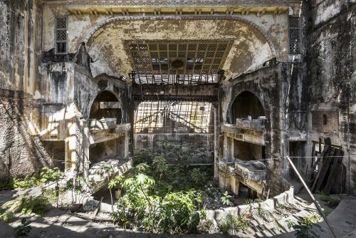 Nature Reclaims Abandoned Castles, Theaters, and Monasteries in Photographs by Jonk