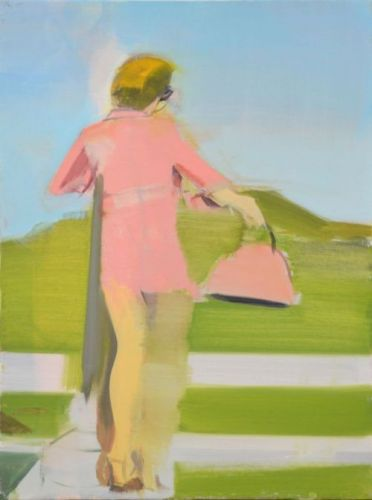 In motion, Carly Silverman