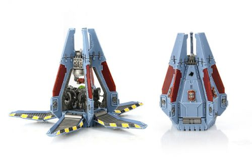 Showcase: Space Wolves Drop Pod by ComradeQuiche