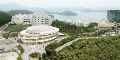 Henning Larsen Designs Elliptical Auditorium for Hong Kong University