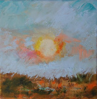 "Abstract Landscape, ""Hot Summer"" by Amy Whitehouse"