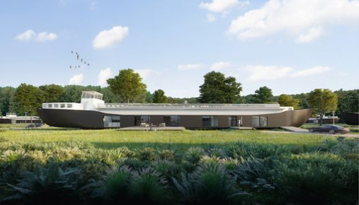 Studio Komma Will Transform Former Dutch Cargo Ships Into Sustainable Homes