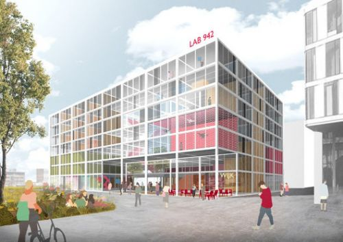 """Benthem Crouwel Designs """"Recycled and Recyclable"""" Science Faculty for the University of Amsterdam"""