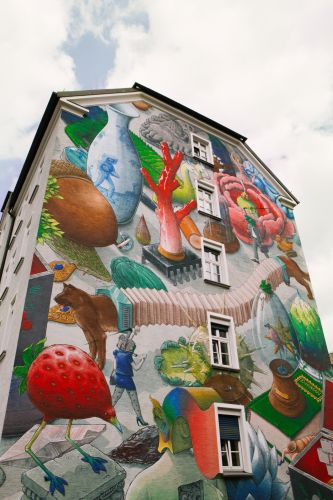 """""""The Cabinet of curiosities"""" by Liqen in Munich, Germany"""