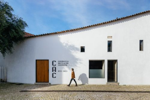 Building of the Old Ceramic Society of Coimbra / Luisa Bebiano Arquitectura + Atelier do Corvo