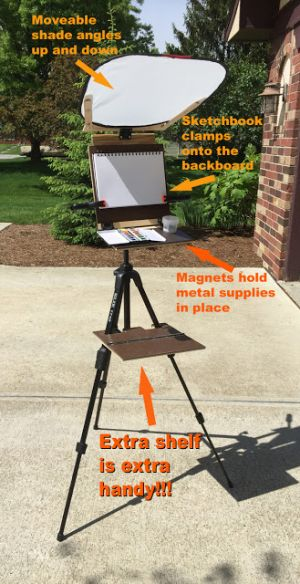 Jeff's Sketchbook Easel
