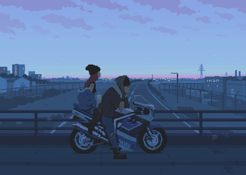GIF work from French video game designer Romain Courtois.Enjoy