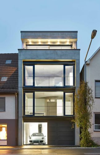 Townhouse in Pfullingen / Bamberg Architektur