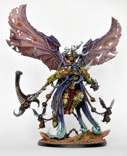 Showcase: Death Guard Mortarion, Daemon Primarch of Nurgle