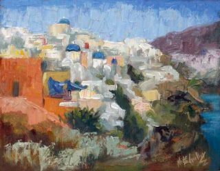 Greece Plein Air Painting and Photography Workshop with Niki Gulley and Scott Williams