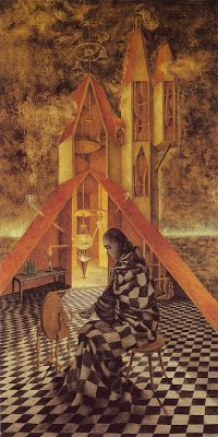 Remedios Varo. Born on this day in 1908