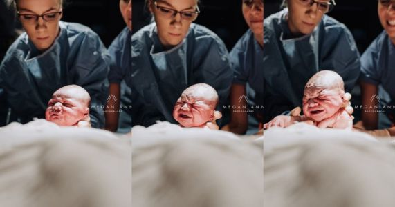 This Photographer Shot Her Own Childbirth