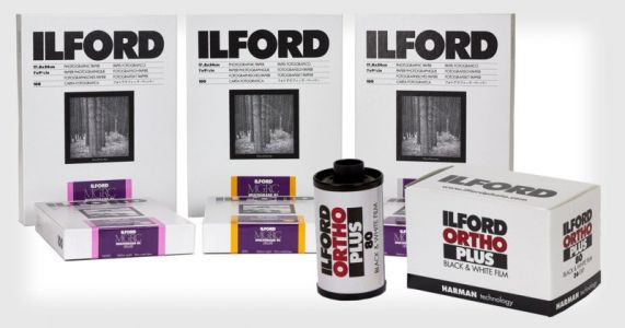 ILFORD Unveils Ortho 35mm and 120 Film, 5th-Gen MULTIGRADE RC Paper