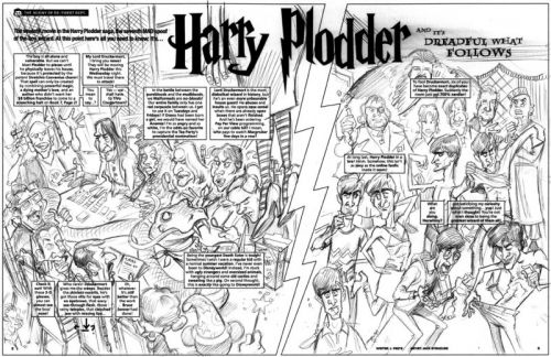 Monday MADness: Harry Plodder 7!
