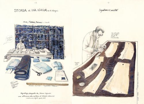 A Jacket's Tale. Reportage from a Neapolitan tailoring lab