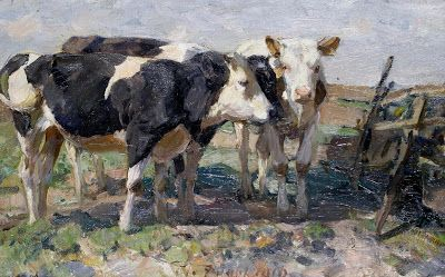 Von Zügel's Animal Paintings from Life