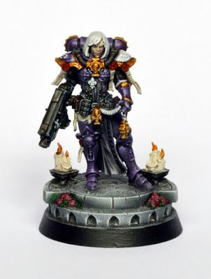 Showcase: Sisters of Battle Amalia Novena Sister Superior