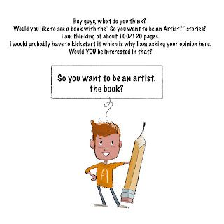So you want to be an Artist, the book?