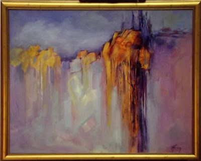 Abstract Landscape, Contemporary Art