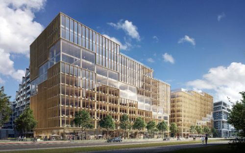 3XN Designs the Tallest Timber Office Building in North America