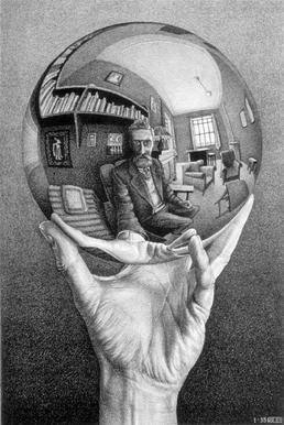 Hand with Reflecting Sphere