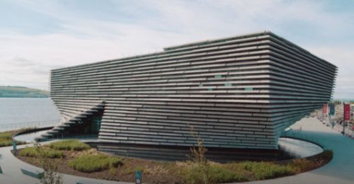A First Look at Kengo Kuma's New V&A Dundee