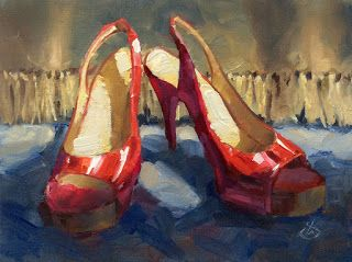 RED SHOES by TOM BROWN