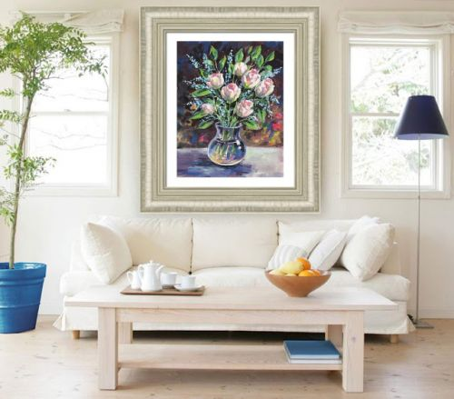Floral Impressionism For Interior Decor