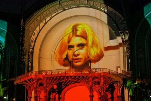Grand Palais projections, Wim Wenders