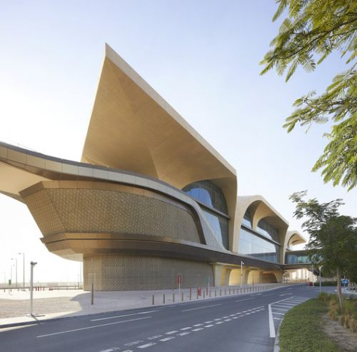 UNStudio Completes First 37 Stations on the Doha Metro Network, in Qatar