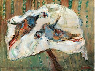 Chaïm Soutine. Born on this day in 1893