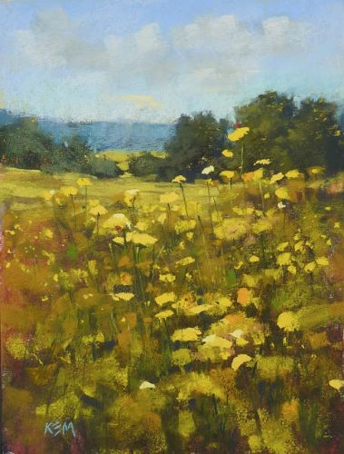 A Tip for Painting Authentic Meadows