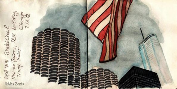 Postcards from Chicago: 5 Marina City Towers