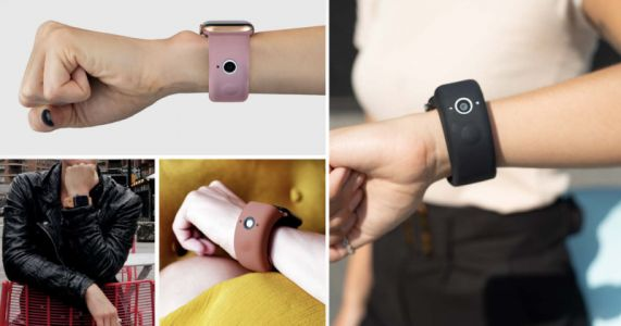 The Wristcam Strap Adds a Pair of Cameras to the Apple Watch