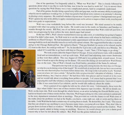 Ward Kimball in his own Words