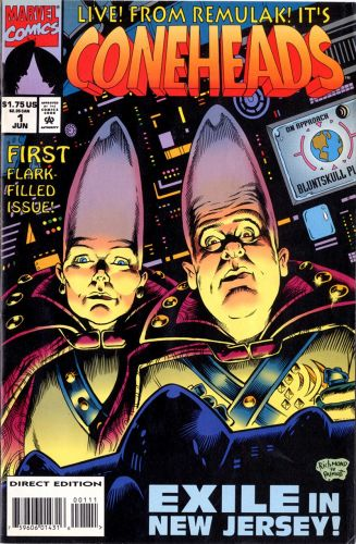 Illustration Throwback Thursday: The Coneheads!