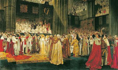 Abbey's Studies for the Coronation