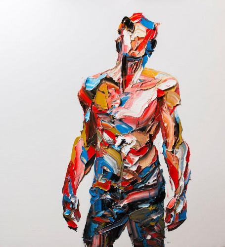 Amazing Palette Knife Portraits and Figures