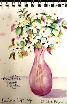 Journal - Dogwoods at The Office