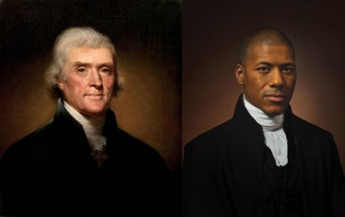 Thomas Jefferson Portrait Recreated by His Sixth Great-Grandson